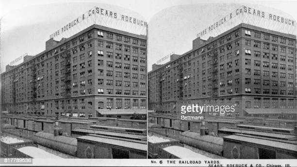 The Chicago railroad yards at Sears, Roebuck & Co.