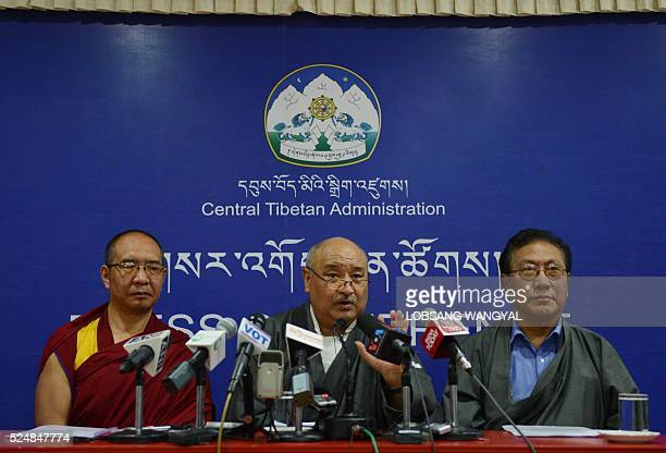The Chief Election Commisioner of the Central Tibetan Administration announces the results of the final round of the Tibetan government election...