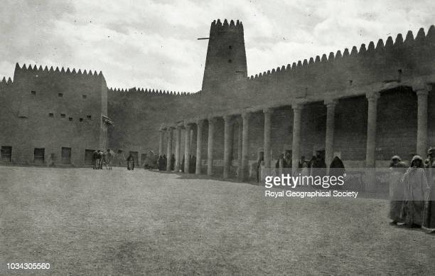 The chief mosque Hayil Saudi Arabia circa 1934