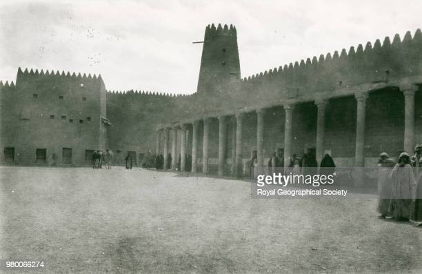 The chief mosque in Hayil There is no offical date for this image taken c 1914 Saudi Arabia 1914
