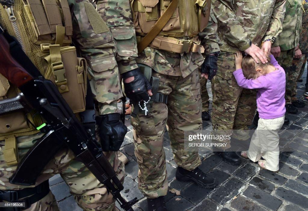 UKRAINE-RUSSIA-CRISIS-MILITARY : News Photo
