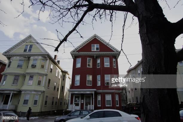 The childhood home of Boston graduate student Imette St Guillen who turned up dead in New York City February 28 2006 in Boston Massachusetts St...