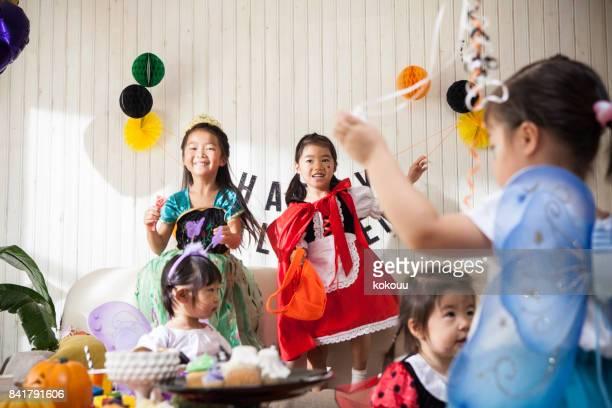 子供部屋でパーティがあります。