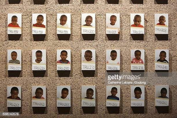 the children of rwanda. reconstructing the family link. architect: diébédo francis kéré. international red cross and red crescent museum. icrc. - philanthropist stock pictures, royalty-free photos & images