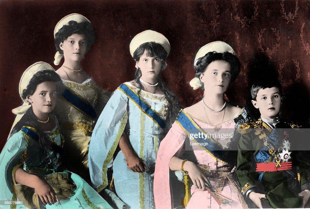 the children of the last russian czar nicholas ii grand duchesses
