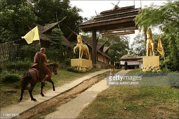 The Children Who Were Murmuring Into The Ears Of The Horses In Thailand In June 2008 In the mountains of the gold triangle on the border with Burma...