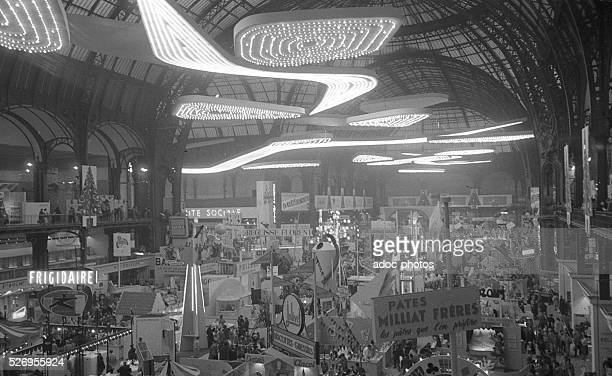 The Children's Fair at the Grand Palais in Paris In 1955