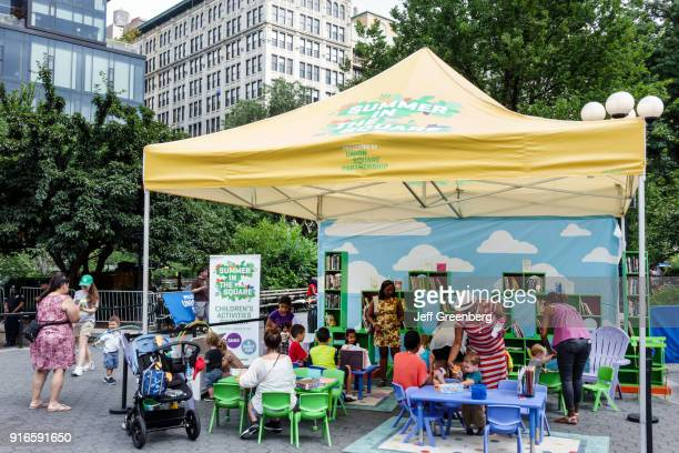 The Children's Pavilion at Summer in the Square at Union Square Park