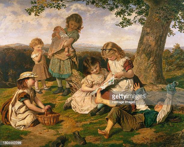 The Children's Story Book, 1890. Artist Sophie Gengembre Anderson.