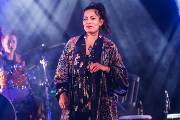 ESP: Ana Tijoux Concert In Hospitalet