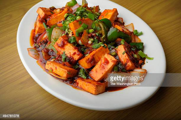 The chili paneer is photographed at Curry Leaf October 26 2015 in Laurel MD