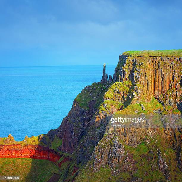 The Chimney Stacks at Giant's Causeway