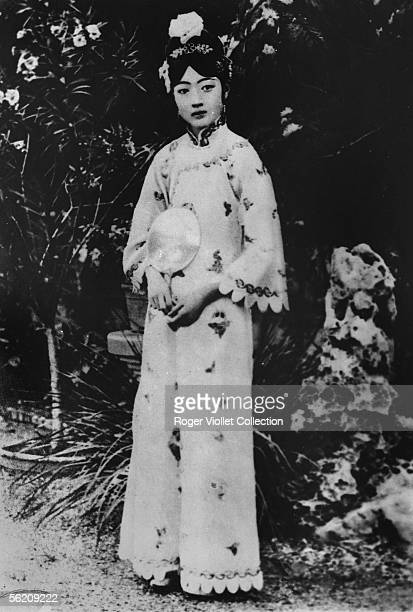 The Chinese empress Wan Jung Puyi's wife