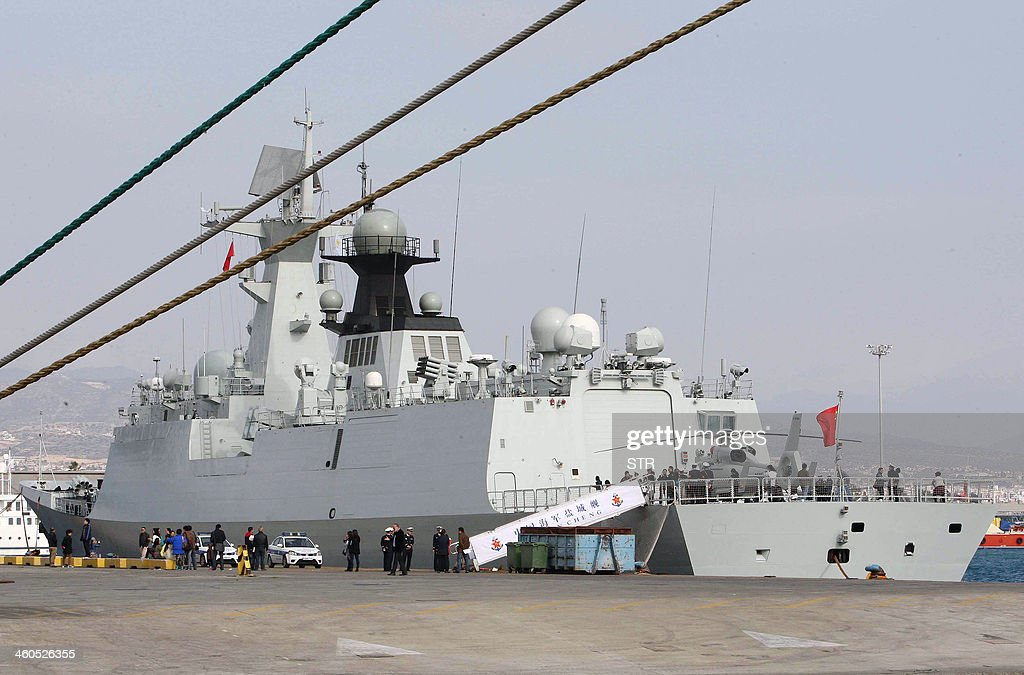 CYPRUS-SYRIA-CONFLICT-CHINA : News Photo