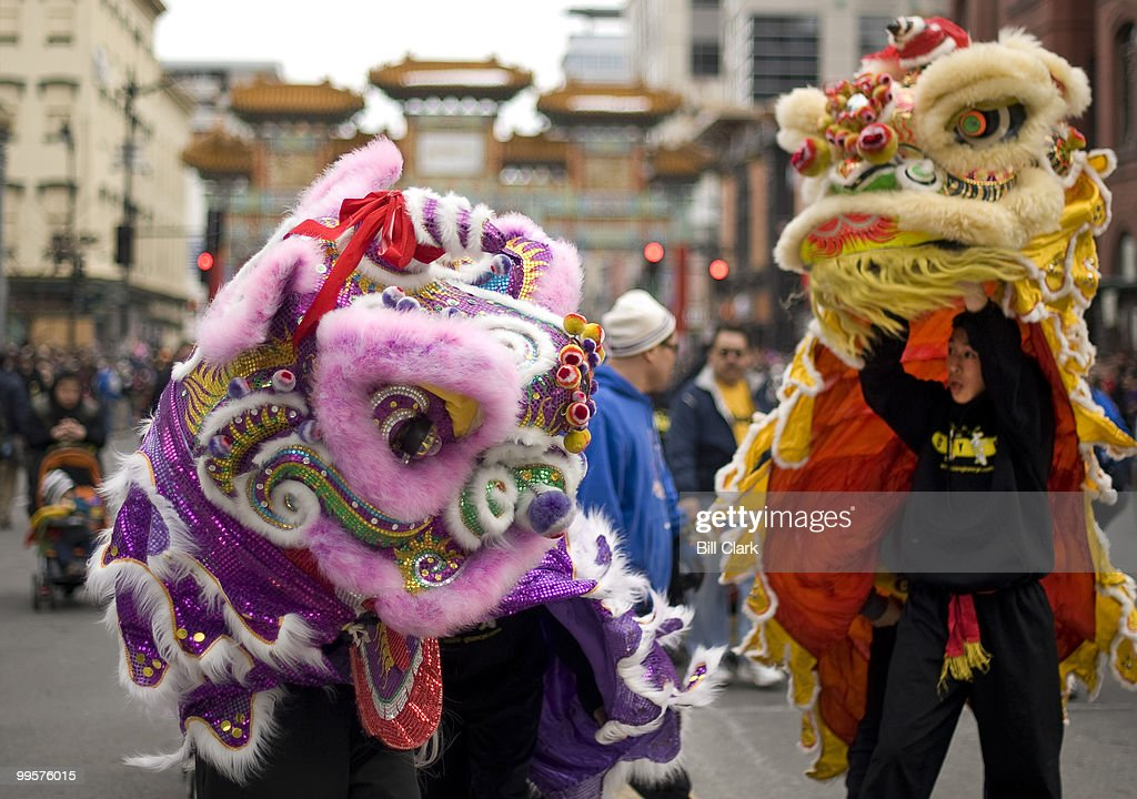 The Chinese New Year parade travels through Washington's Chinatown on Sunday, Feb. 21, 2010, to celebrate the Chinese Lunar New Year. This year, 4708 on the Chinese calendar, is the year of the Tiger. which began on February 14, 2010.