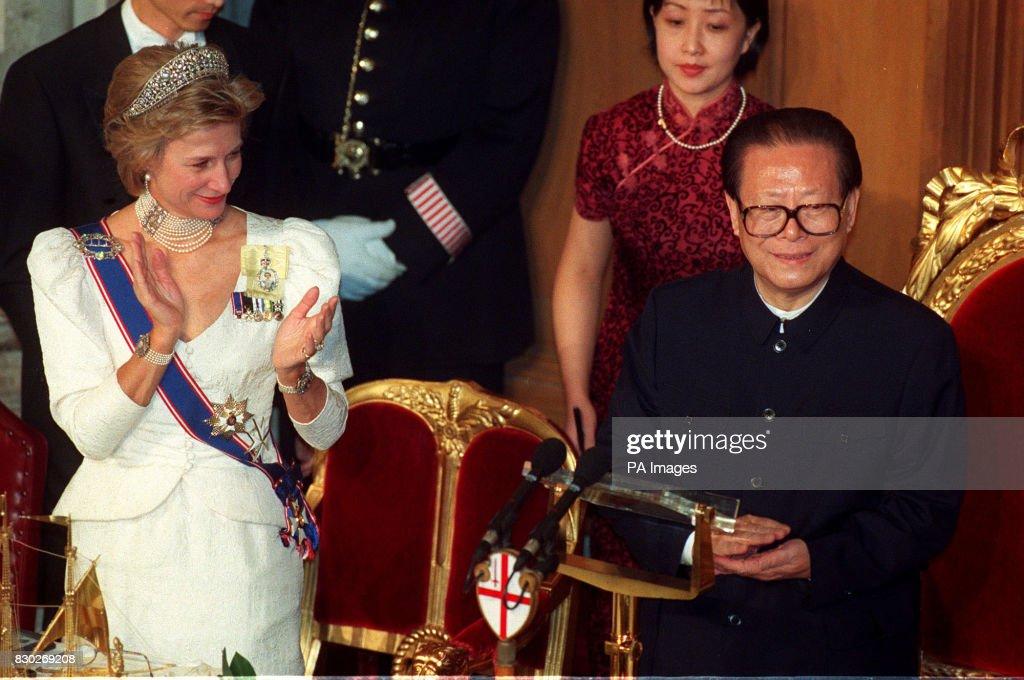 China visit Guildhall : News Photo