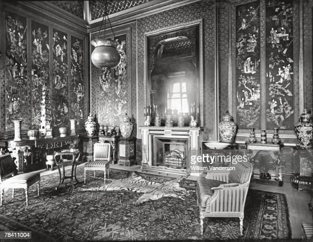 The Chinese Room in Buckingham Palace circa 1930 The furnishings acquired from the Brighton Pavilion