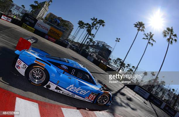 The Chip Ganassi Racing Riley DP Ford EcoBoost of Scott Pruett and Memo Rojas of Mexico during practice for the Tudor United Sports Car Championship...