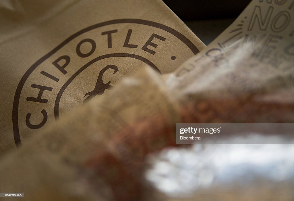 Inside A Chipotle Mexican Grill Inc. Store Ahead Of Earnings Figures : News Photo