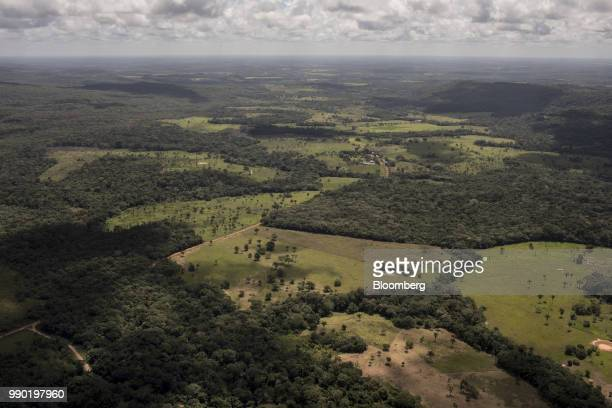 The Chiribiquete National Park is seen in this aerial photograph taken above San Jose del Guaviare Colombia on Monday July 2 2018 The United Nations...