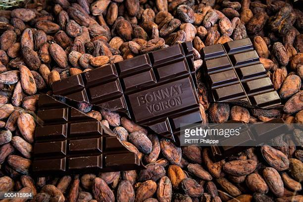 The chocolat of the Maison Bonnat since 1884 on november 19 2015 in Voiron Isere France
