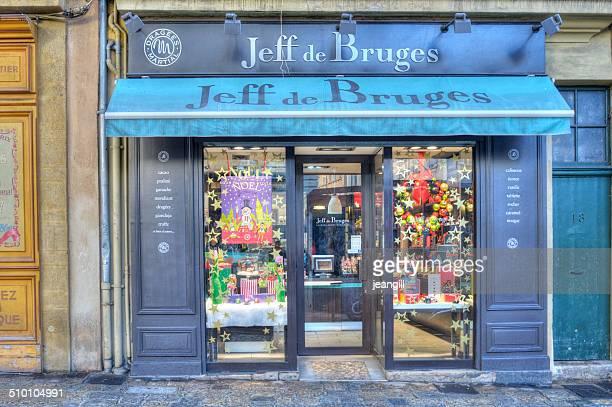 La cadena de chocolates belgas shop Jeff de brujas