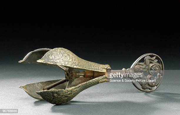 The choke pear was an iron torture instrument shaped like a pear which was forced into the victims mouth Upon insertion a key was turned causing...