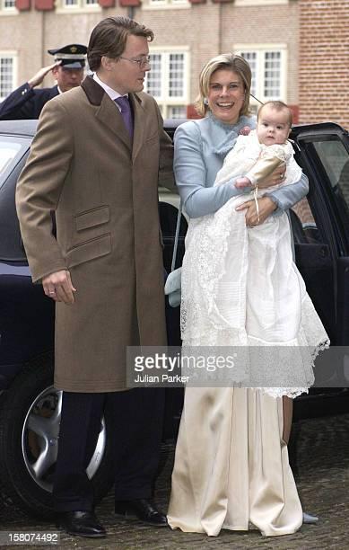 The Christening Of Prince Constantijn Princess Laurentien Of Holland'S Daughter Eloise Sophie Beatrix Laurence At The Palais Het Loo In Apeldorn