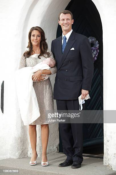 The Christening Of Prince Joachim And Princess Marie Of Denmark'S New Son Prince Henrik Carl Joachim Alain At Mogeltonder Church