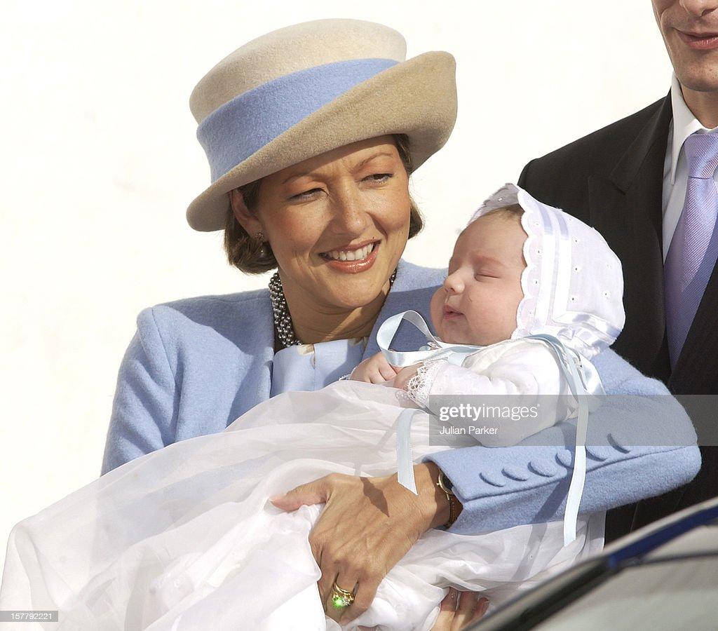 The Christening Of Prince Joachim & Princess Alexandra Of Denmark'S Son Felix Henrik Valdemar Christian : News Photo