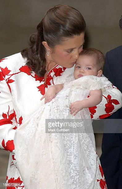 The Christening Of Princess Alexia Of Greece Carlos Morales Quintana'S Daughter Arrietta In Barcelona