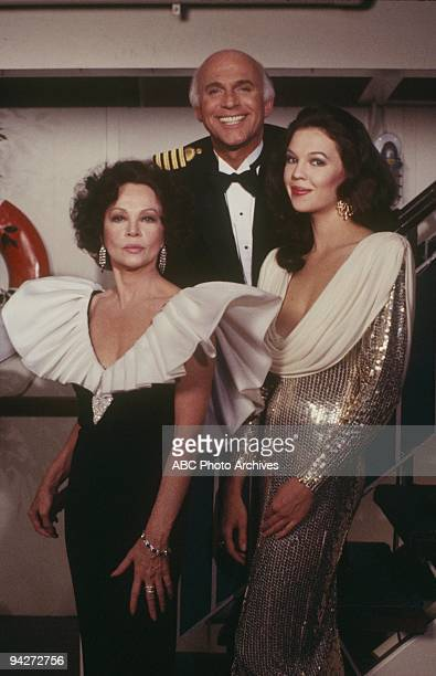 "The Christmas Cruise"" which aired on December 25, 1986. LESLIE CARON;GAVIN MACLEOD;JENNIFER CARON HALL"