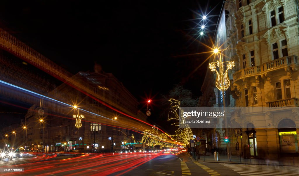 Advent season in Budapest : News Photo