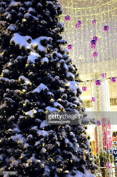 the christmas lights sparkle at the lowry shoppingmall on november 18 2007 in manchester england