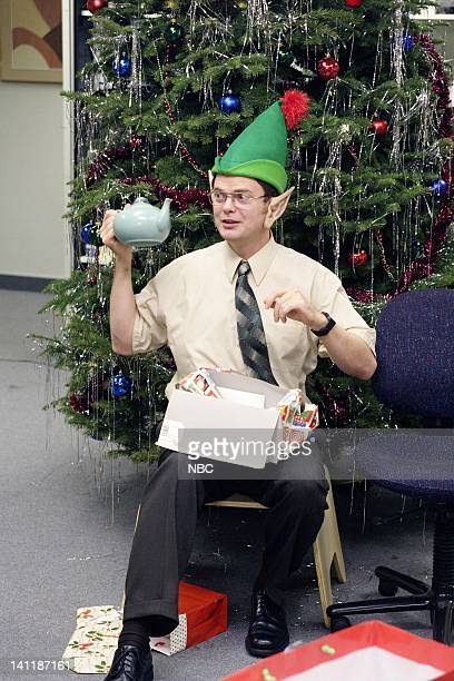 THE OFFICE The Christmas Party Episode 10 Aired Pictured Rainn Wilson as Dwight Schrute Photo by Paul Drinkwater/NBCU Photo Bank
