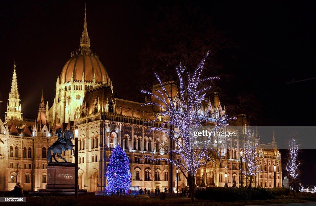 Advent season in Budapest : News Photo