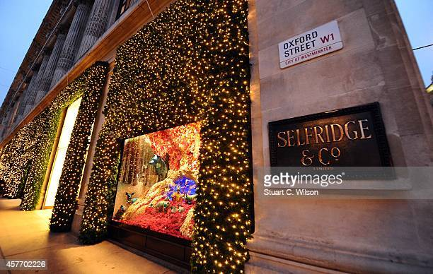 the christmas windows display is unveiled at selfridges on october 23 2014 in london england - The Christmas Shop