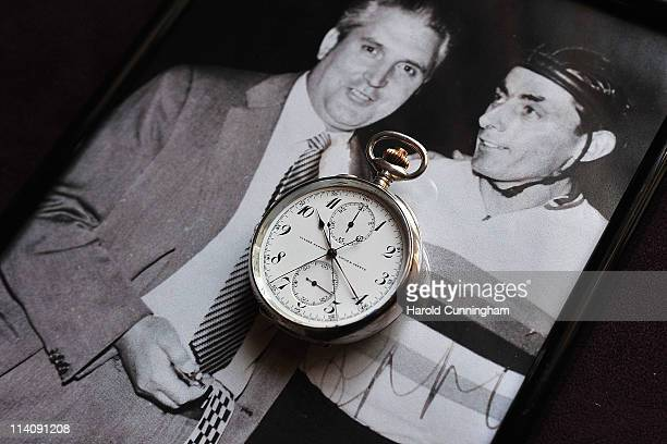The chronograph made by Ulysee Nardin from circa 1915 and used by Ferruccio Massara to time in 1942 Fausto Coppi's 14 years unbroken Cycling World...