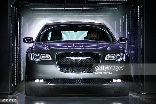 The Chrysler 300 makes its debut at the 2014 Los Angeles Auto Show on November 19, 2014 in Los Angeles, California. This year's show is slated to...