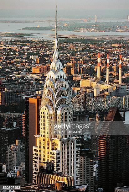 The Chrysler Building architect William van Alen New York United States of America
