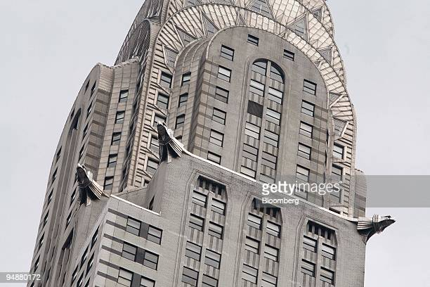 The Chrysler Building designed by William Van Allen is seen in New York US on Wednesday July 9 2008 The Art Deco icon that helps define the New York...