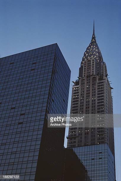 The Chrysler Building in New York City October 1981