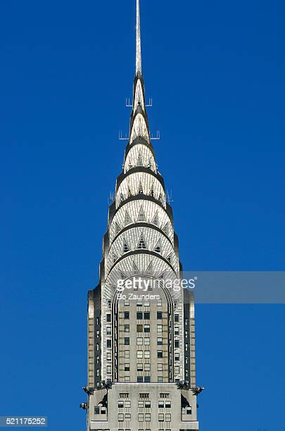 the chrysler building, new york city - chrysler building stock pictures, royalty-free photos & images
