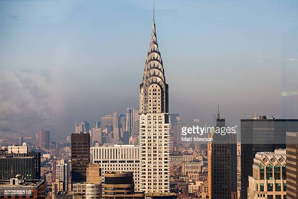 the chrysler building new york city usa - chrysler building stock pictures, royalty-free photos & images