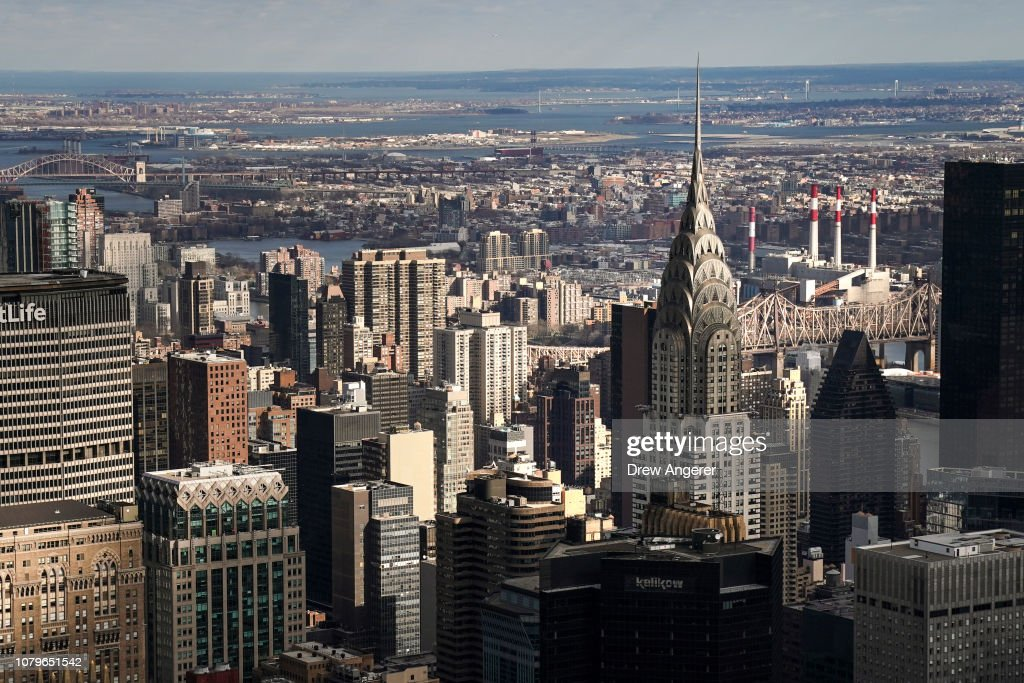 New York City's Iconic Chrysler Building Is Up For Sale : News Photo