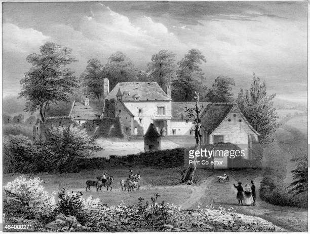 The Château d'Hougoumont Belgium 19th century The Château d'Hougoumont is a large farmhouse situated at the bottom of an escarpment where British and...