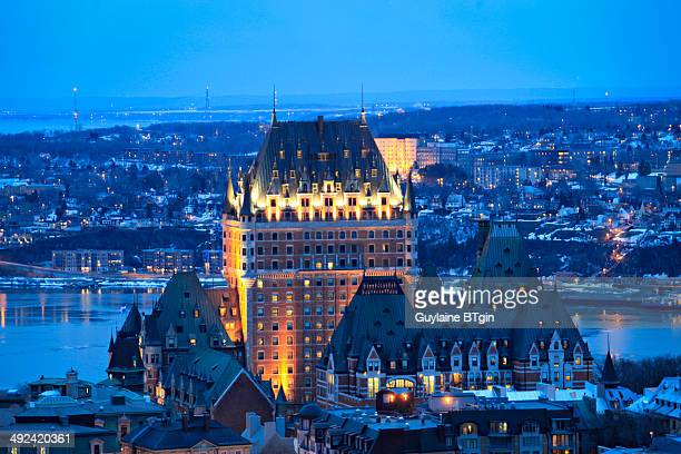 CONTENT] The Château Frontenac is a grand hotel in Quebec City Quebec Canada which is operated as Fairmont Le Château Frontenac It was designated a...