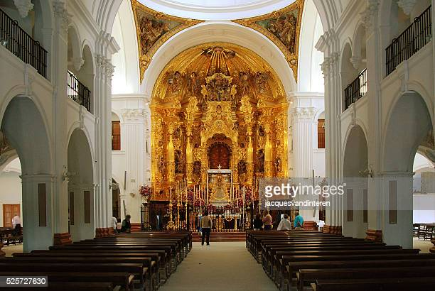 the church in el rocio, spain - pingst bildbanksfoton och bilder
