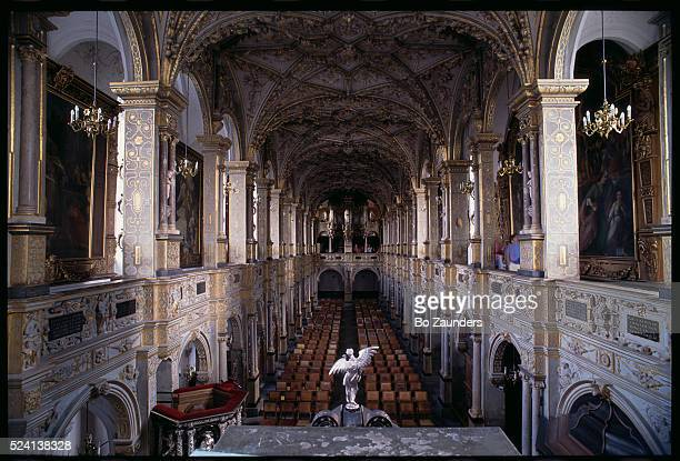 The church in this Renaissance castle boasts a Compenius organ from 1610