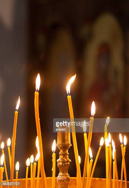 The church lights